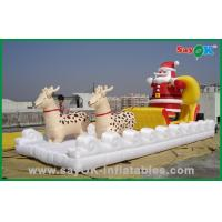 China Christmas Inflatable Holiday Decorations Inflatable Santa Claus and sled on sale