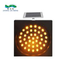Best Waterproof IP65 led traffic warning signal light control with solar power wholesale