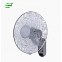 China Plastic Blade Three Speeds AC Wall Fan 16 Inch CE RoHS Approved on sale