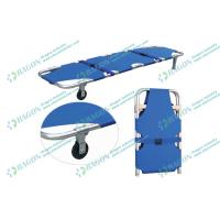 Best ISO CE Approved Multifunctional Evacuation Ambulance Stretcher foldable with Wheels wholesale