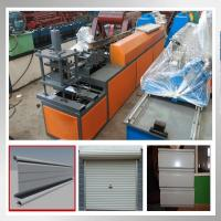 Best Effecient Automatic Roller Shutter Door Machine For 0.3 - 0.7mm Color Steel Sheet wholesale