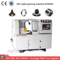 Best CNC Spinning Lathe Machine , Automatic Spinning Machine With High Efficiency wholesale