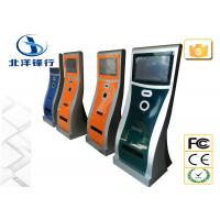 China Indoor Multimedia Internet Self Service Banking Kiosk Cash Payment Kiosk Stand on sale
