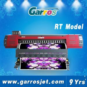 Best Digital Textile Sublimation Printing Machine Garros RT1802 with Dual DX5 Printhead wholesale