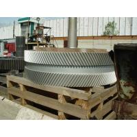 China 1.6580(30CrNiMo8,30CND8)Forged Forging Steel Double Helical Gear for Gearbox on sale