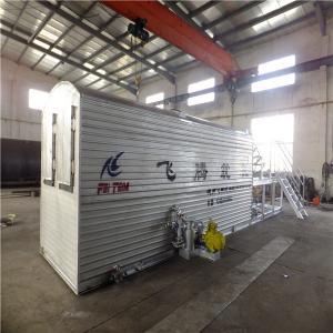 China Outside Oil Boiler Heating Asphalt Drum Plant , Custom Color Asphalt Plant Equipment on sale