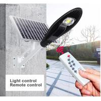 Best Smart Control Solar Powered LED Street Lights 3000 - 6500K CCT Easy Install wholesale