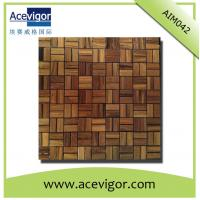Best Solid wood mosaic tiles for wall decoration wholesale