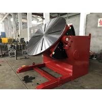 Best Red Pipe Welding Positioners Titling And Rotary Table For Pipe Turning Welding wholesale