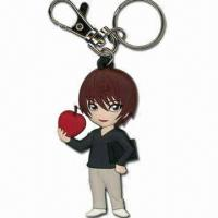 Best Handsome Boy Shaped Keychain, Measures 6.5 x 3.7 x 0.5cm, Made of Soft PVC wholesale