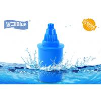 China Blue Color Alkaline Water Filter Cartridge 3 Pack Water Pitcher Replacement on sale