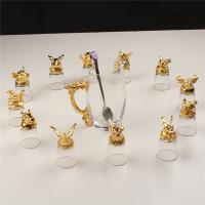 Best Zodiac White Wine Dispenser Set Small Enamel Crystal Glass Gift Set wholesale