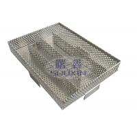 Best Stainless Steel BBQ Cold Smoke Generator Strong Square Shape with Perforated Mesh wholesale