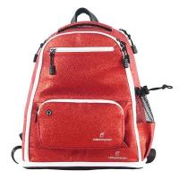 China 2020 Red Fashion Womens Sports Backpack , Glitter Cheer Backpack Soft Handle on sale