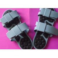 China Gray Electrode Pluse Massage Slipper For Foot Massage From China / Blood Circulation Foot Massage Slippers on sale