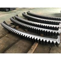 Best AISI 4140(SAE 4140,42CrMo4,SCM440,1.7225)Forged Forging Steel mine Mining Shovel Twelve Segments Gear Rings Ring Gears wholesale