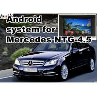 Buy cheap Mercedes benz C class GPS Auto Navigation Systems mirror link 480*800 Android 6 from wholesalers
