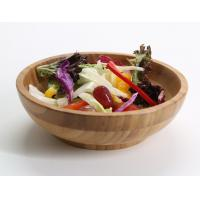 China customized design bamboo fiber salad bowl,unique salad bowls with high quality and healthful bamboo material on sale
