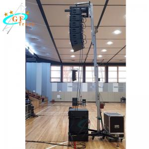 Best Folding Line Array Speaker Crank Up Stand For Sound wholesale