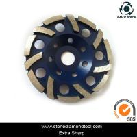 China Diamond tool concrete grinding disc cup wheel on sale