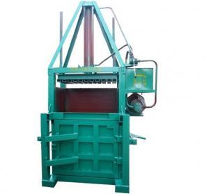 Buy cheap Compressor Supermarket Garbage / Carton / Waste Paper Baler Machine product