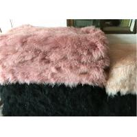 Best Long Hair Fluffy Real Sheepskin Rug For Bed / Sofa / Chair Seat Covers wholesale