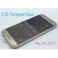 Buy cheap No White Edge Tempered Glass Screen Protector Perfect Adhesion For Samsung A3 / A320 product