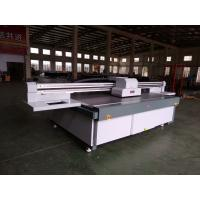 Cheap 2513 UV Flatbed Printer with RICOH GEN5/GH2220/KM1024i heads heads for glass for sale