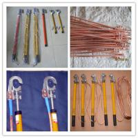 Best Earth rods set with wire and earth pin,Earth rod&grounding rods wholesale