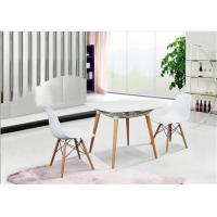 Buy cheap Elegant Simplicity EAMES Plastic Chair , PP White Charles EAMES Dining Chair product