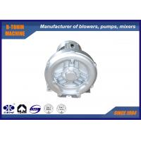 China Aluminium Side Channel Blower for fish pond oxygen supplier , portable small air fan on sale
