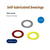 Best Ptfe Thrust Washer Valve Bushing Composite Material Steel Backed WC08 WC60 wholesale