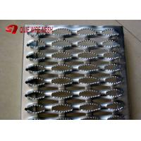 Best Stainless 2MM Galvanized Steel Grating 240 * 4020MM / Anti Slip Tread Plates wholesale