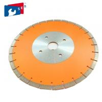 China Low Noise Stone Diamond Saw Blades Wet Or Dry Cutting Style Good Wear Resistance on sale