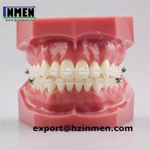 China Orthodontic MINI ceramic transparent bracket brace on sale