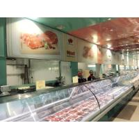 China Deli Serve Over Counter Meat Display Refrigerator / Butchery Shop Equipment on sale