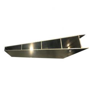 Best Electric Villa Louvre Window Shutter General Aluminum Frame Extrusions wholesale