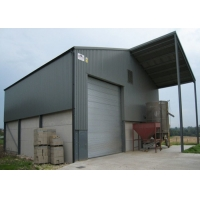 China Topshaw Light Steel Structure Pre-fabricated Workshop Shed Hangar Steel Structure Modular Prefab Factory Building on sale