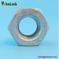 Best Hot Forged ASTM A563 DH Nut Heavy Hex Hot Dip Galvanized with A325 Bolt wholesale