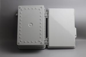 Best IOT Sensors Latching Lid Hinged Plastic Enclosures Watertight wholesale