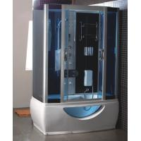 China rectangular steam shower room with jacuzzi on sale