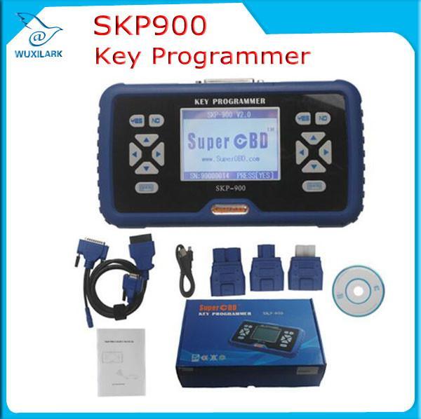 Cheap Super OBD2 SKP-900 Key Programmer V4.5 for Almost All Cars SKP900 Auto Key Programmer for sale