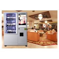 Best Alcohol Salad Juice Vending Machine With Elevator , Automated Self Service Vending Machines wholesale