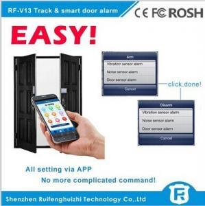 China Reachfar RF-V13 anti theft door sensor alarm/sms gsm tracker smart door alarm on sale