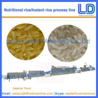 Best Instant Rice/Nutritional Rice Food making machinery wholesale