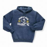 Best Men's Pullovers with Hood, Cuff on Sleeve, and Bottom Band wholesale