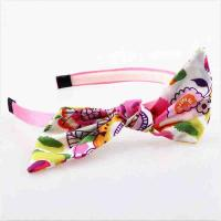 Best Hoop Toddler Girl Hair Accessories Hairband Fabric Material Eco - Friendly wholesale