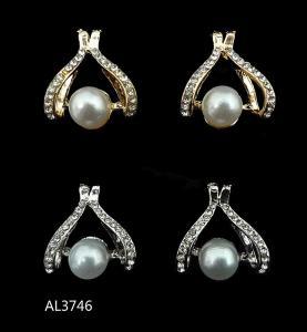 Best 2014 new handmade fashion pearl Bridal/Wedding Stud Earring Earring Accessories Wholesale wholesale