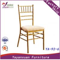 Best Aluminum Wedding Chairs customized by Factory (YA-92-6) wholesale