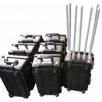 Mobile Phone 7 Band 350 Watt Bomb Jammer Portable Jammer Device With Battery